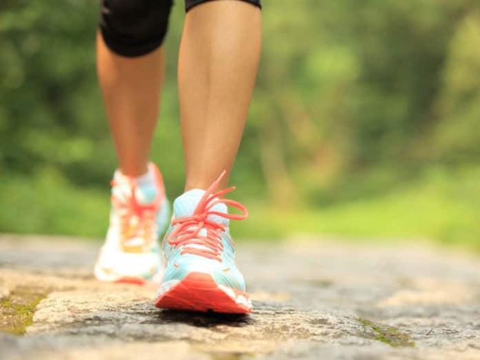 Slower walkers have older brains