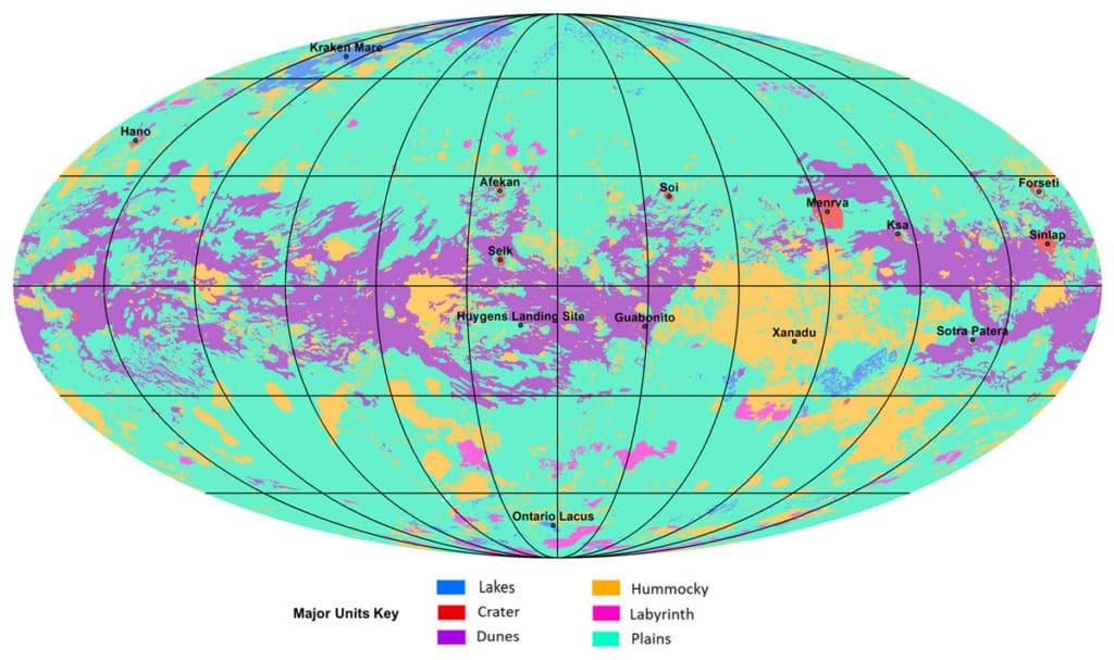 A global geologic map of Saturn's moon Titan
