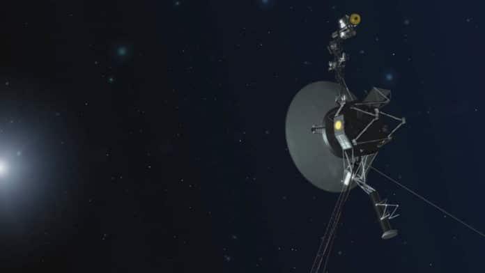 Artist's concept of NASA's Voyager spacecraft. Credit: NASA/JPL-Caltech