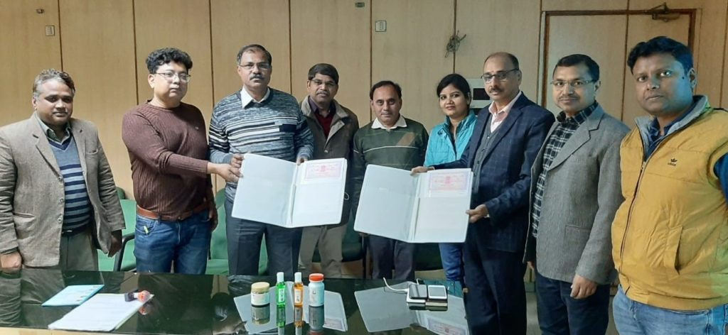 CIMAP transfers technology for herbal products