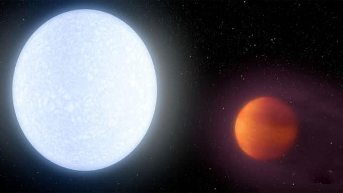 The hottest exoplanet KELT-9b