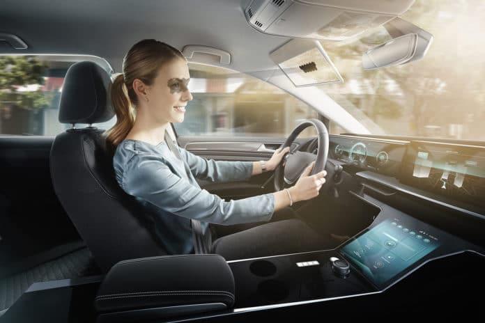 Virtual Visor: an AI-based digital vehicle sun visor.