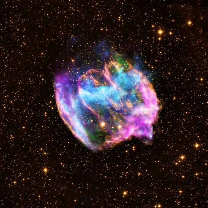 X-ray: NASA/CXC/MIT/L.Lopez et al.; Infrared: Palomar; Radio: NSF/NRAO/VLA