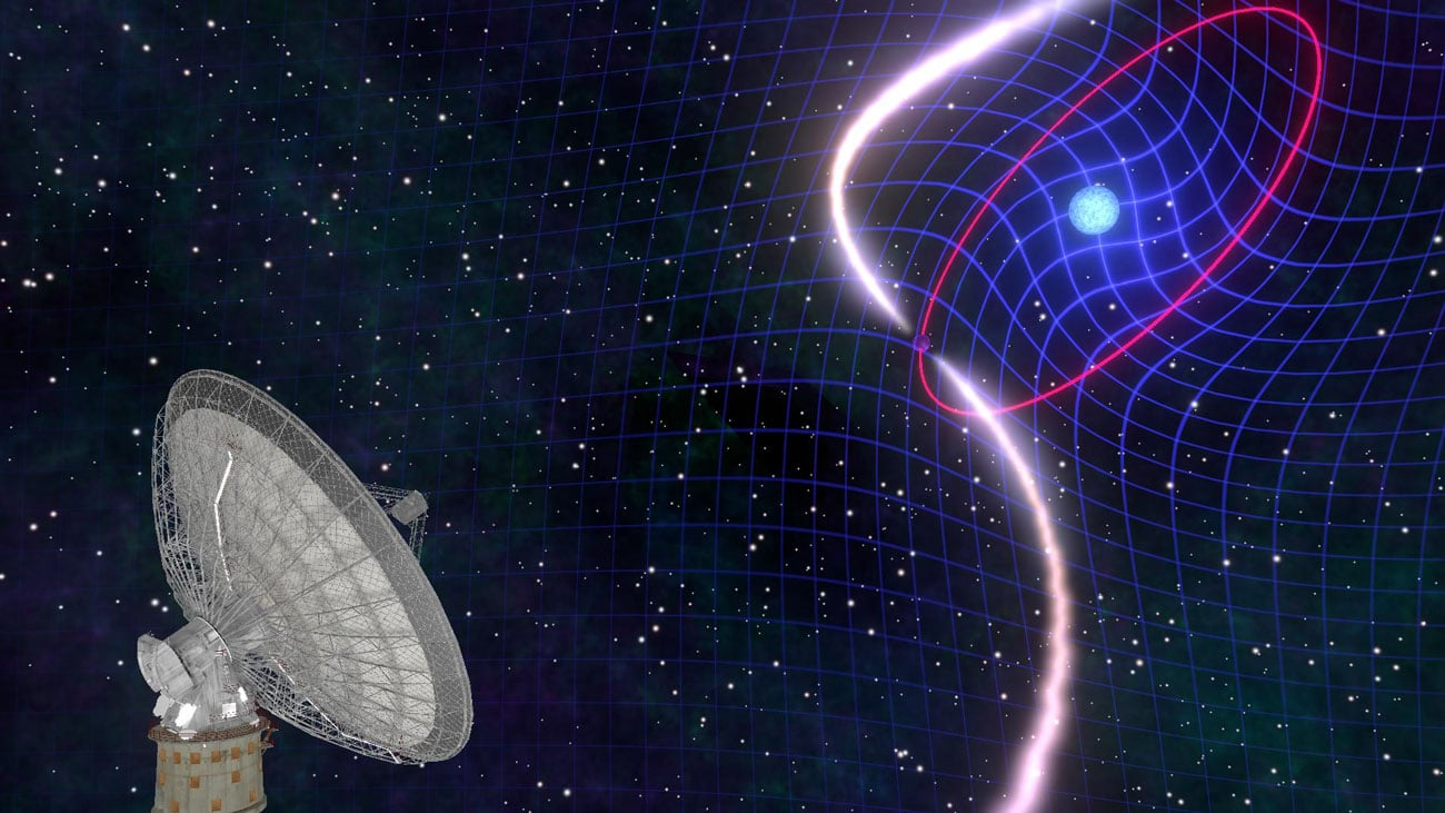 """Image result for dragging of space-time in binary stars"""""""
