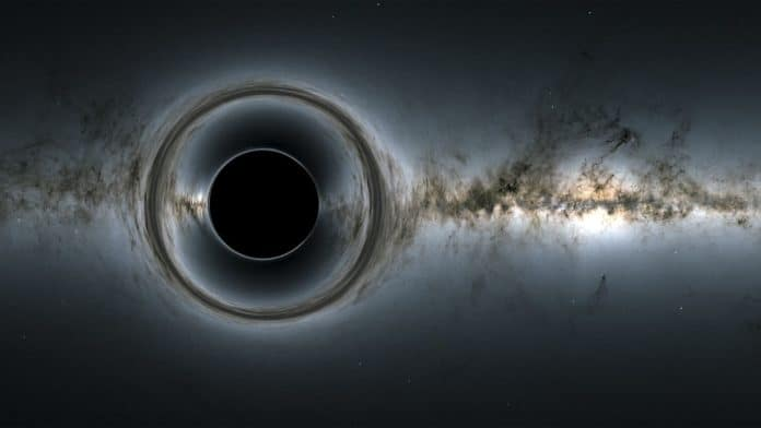 New formula for calculating Hawking radiation at the event horizon of a black hole