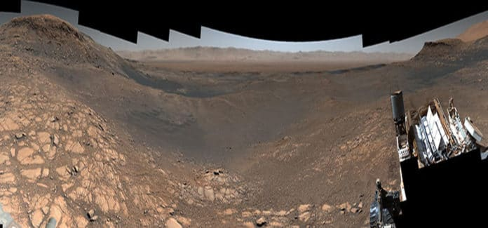 NASA's Curiosity rover captured its highest-resolution panorama of the Martian surface between Nov. 24 and Dec. 1, 2019. Credits: NASA/JPL-Caltech/MSSS