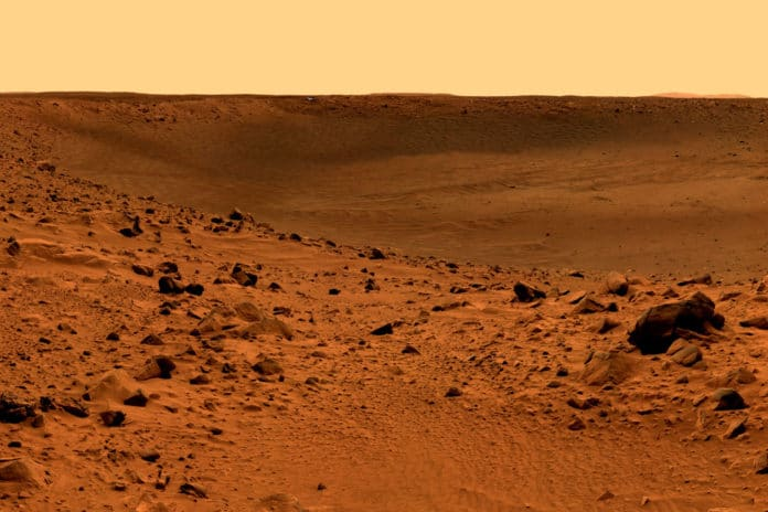 Organic molecules discovered on Mars might be consistent with early life on Mars