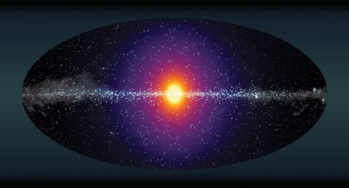 We live in a halo of dark matter, study
