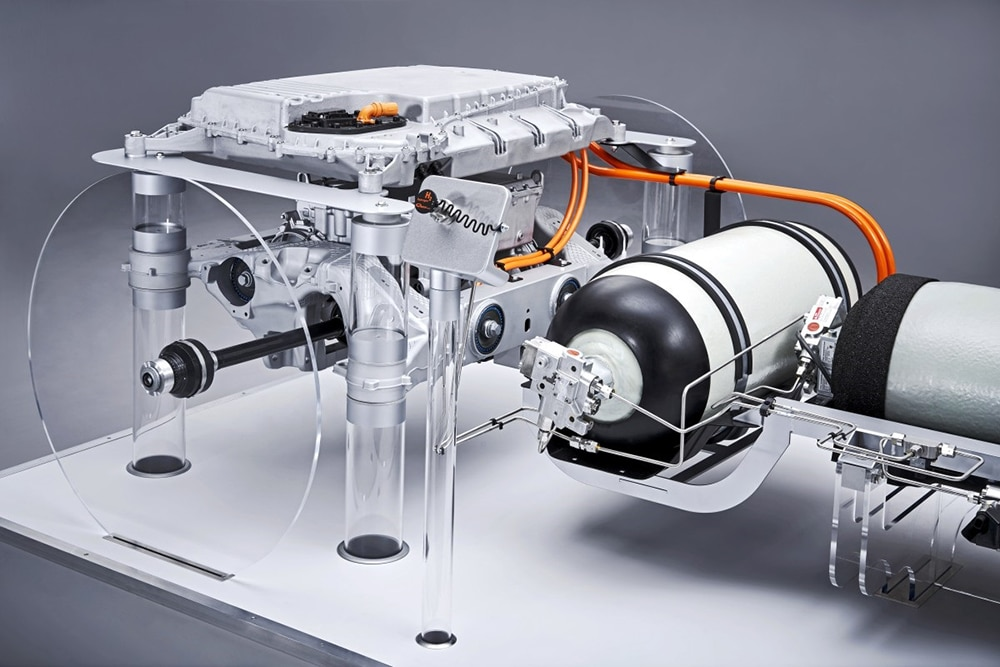 The fuel cell system for the powertrain for the BMW i Hydrogen NEXT