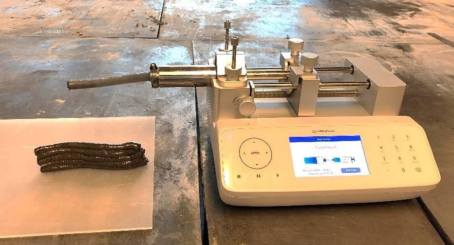 Device for printing 3D samples / Shima Pilehvar et al./ Journal of Cleaner Production