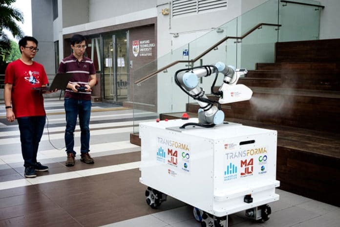 eXtreme Disinfection roBOT (XDBOT)