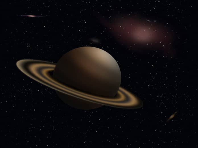 Why Saturn's atmosphere is so hot?