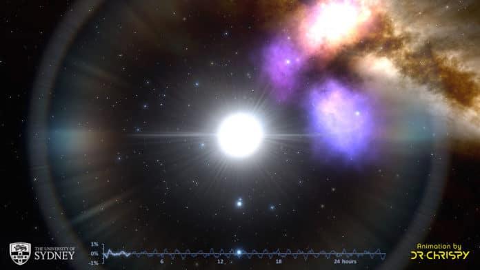 Astronomers identified a rhythm among pulsating stars