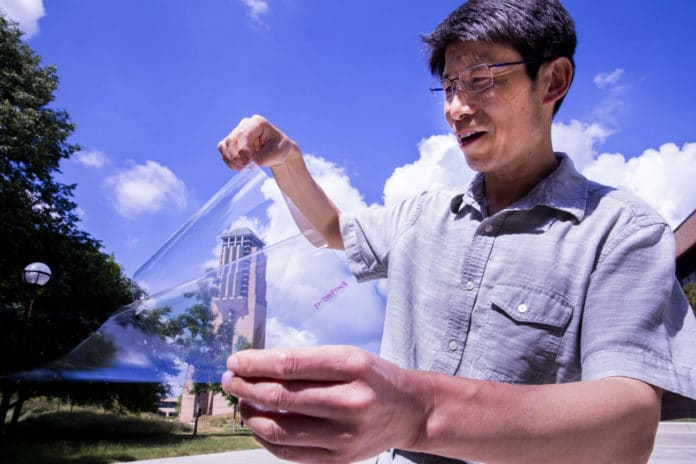 Scientists make plastic conductive while also making it more transparent