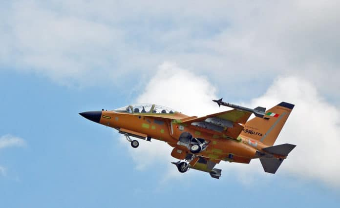 Leonardo M-346 Fighter Attack successfully completed its maiden flight.