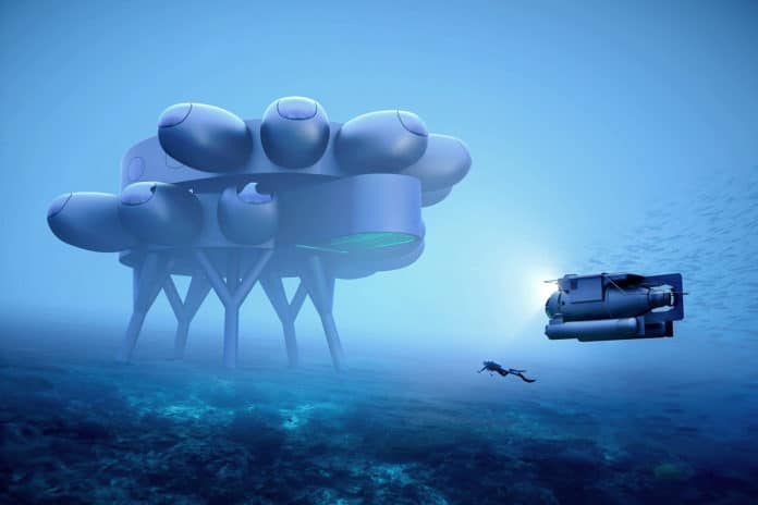 Fabien Cousteau's PROTEUS is an underwater version of the ISS.