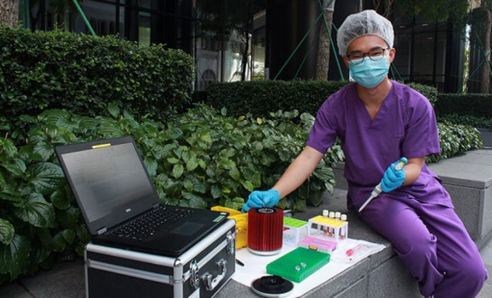 Portable test produces results in 36 minutes; works for dengue and other viruses as well