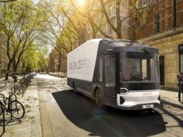 Volta Zero, a futuristic electric truck built for the zero emissions city.