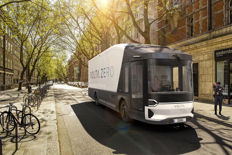 Volta Zero, a futuristic electric truck with 200 km