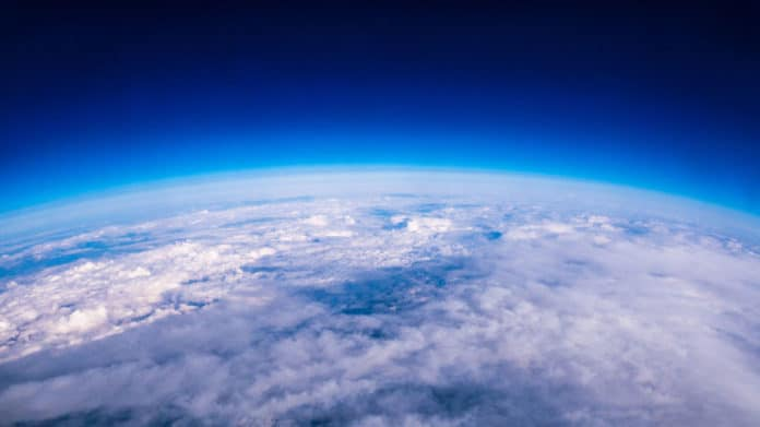 Earth's atmosphere is ringing like a bell