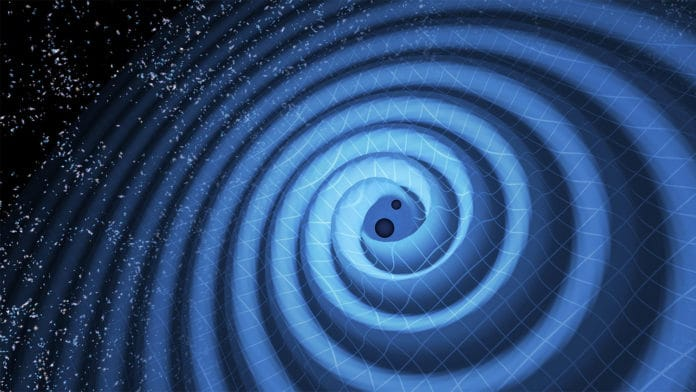 New quantum detector to mid-frequency gravitational waves