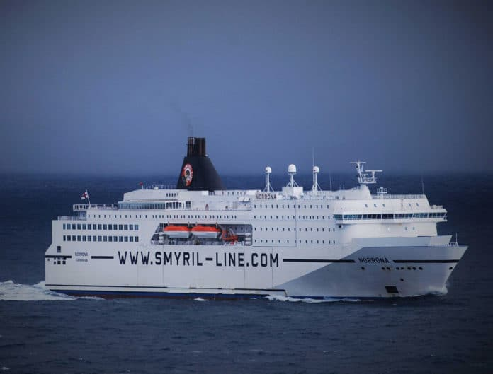 High-seas ferry MS Norröna