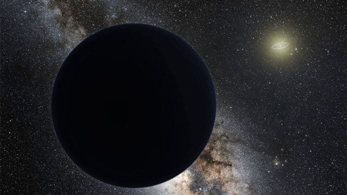 A grapefruit-sized black hole may be hiding in our solar system
