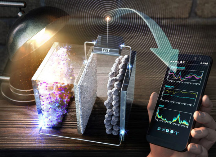 A new rechargeable battery that can be charged wirelessly using light from indoor sources