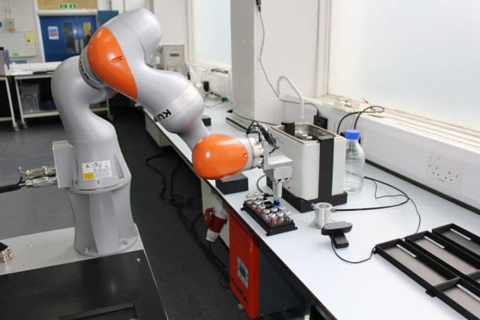 A mobile robotic scientist capable of carrying out experiments by itself.