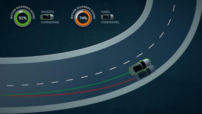 Jaguar Land Rover develops anti-motion sickness tech for self-driving cars