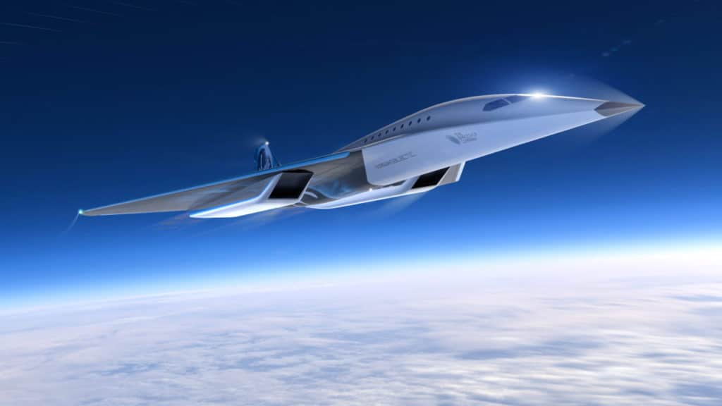The aircraft would be able to travel at three times the speed of sound.