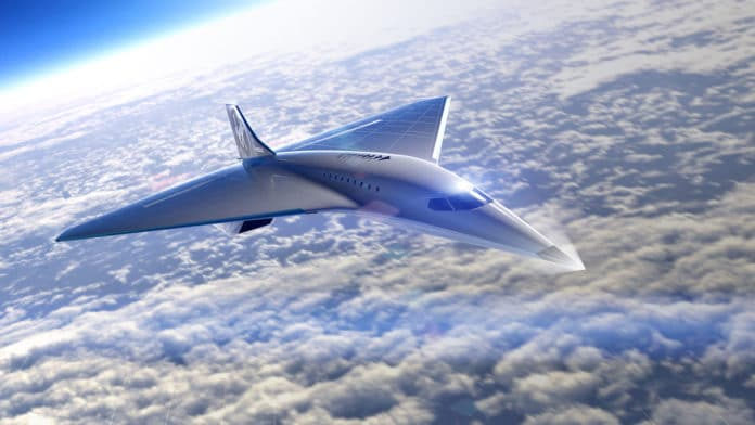 Virgin Galactic and Rolls Royce to build a Mach 3 supersonic commercial jet.