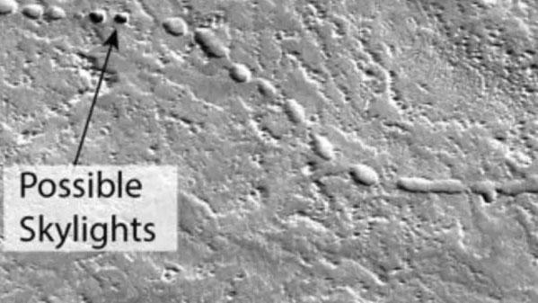 Lava tubes on Mars