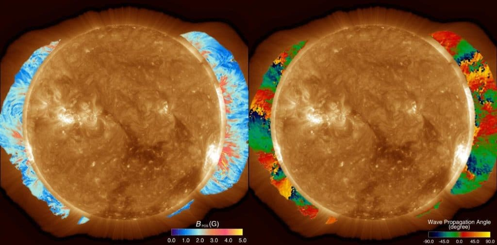 A map of the coronal magnetic field strength