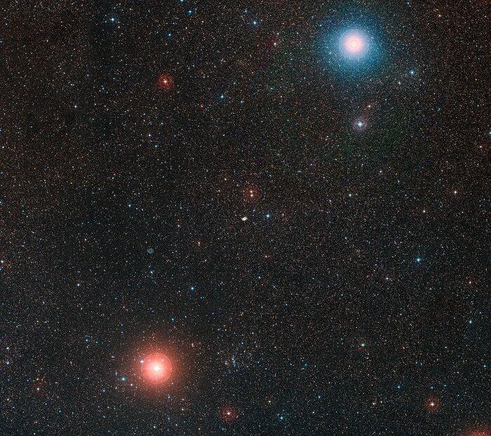 The sky around NGC 2899