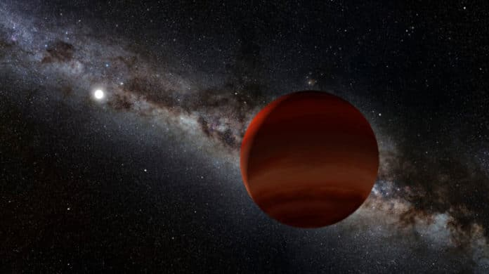 oldest known wide-separation white dwarf plus cold brown dwarf pair