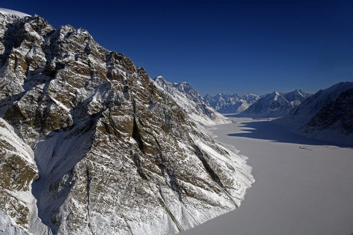The coldest temperature in the Northern Hemisphere was recorded in Greenland in 1991