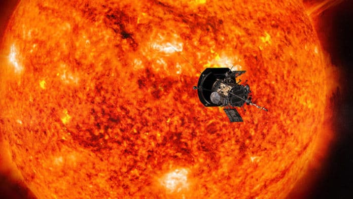 Parker Solar Probe is gonna make a record-breaking approach to the sun today
