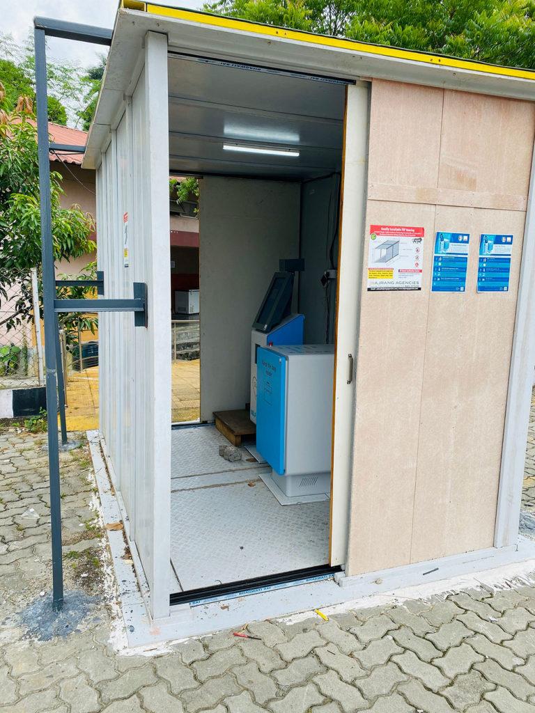 Self-check kiosk installed at IIT Guwahati