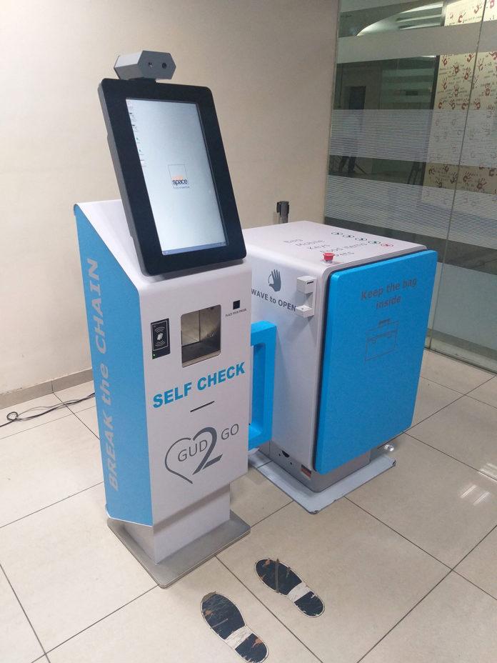 Self-check kiosk