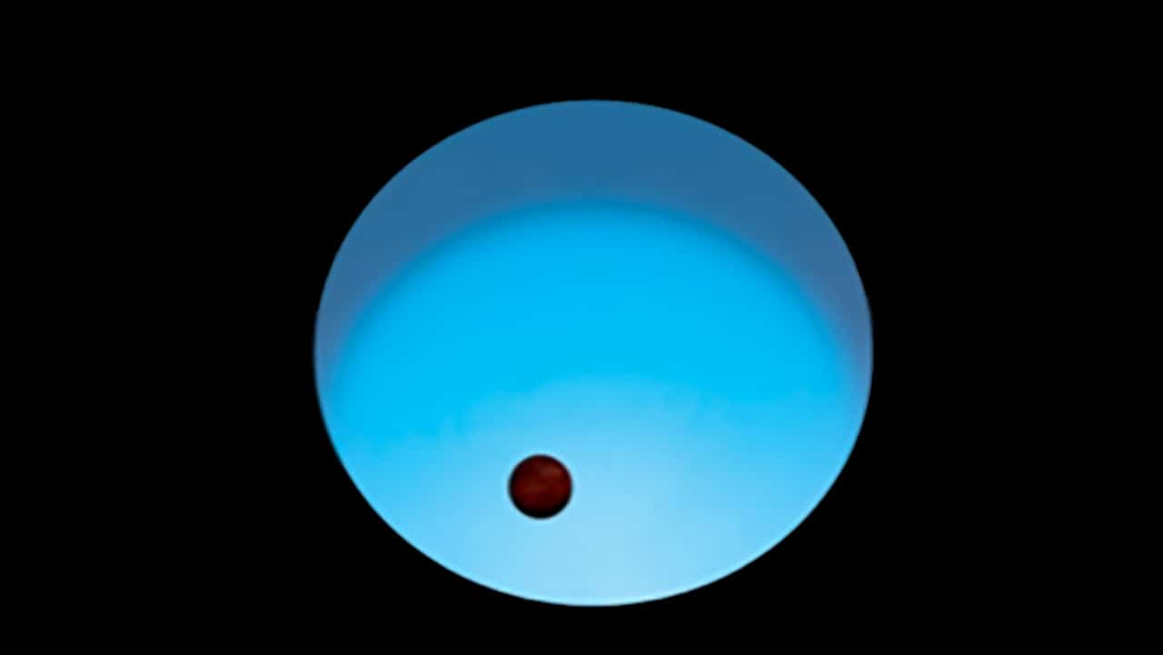 Telescope glimpses 'most extreme planet ever seen' where surface is 3,200C