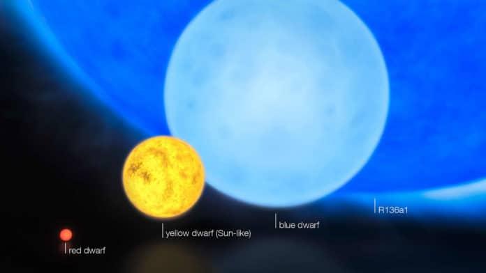 Different mass stars