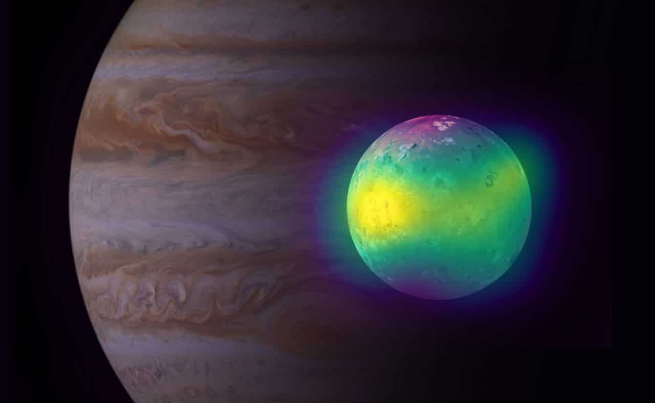 ALMA shows volcanic impact on Jupiter's moon Io's atmosphere