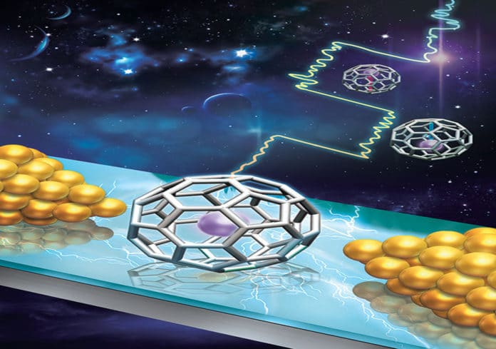 A single-molecule electret could be the keys to molecular computers