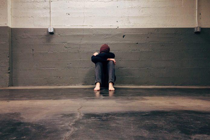 alone man person sadness