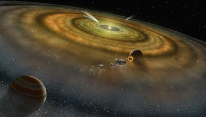 Our solar system formed in less than 200,000 years