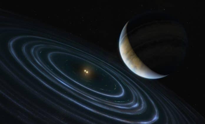 Artist's Impression of Exoplanet HD 106906b