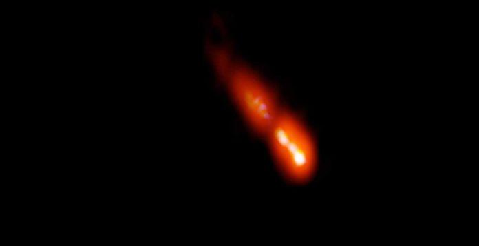 VLBA image of the blazar PSO J0309+27