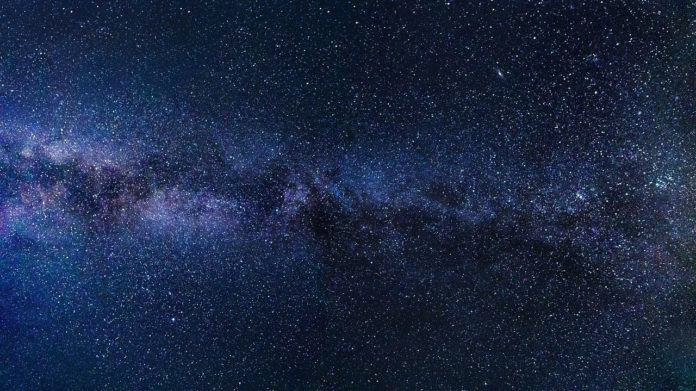 A three-dimensional view of the Milky Way