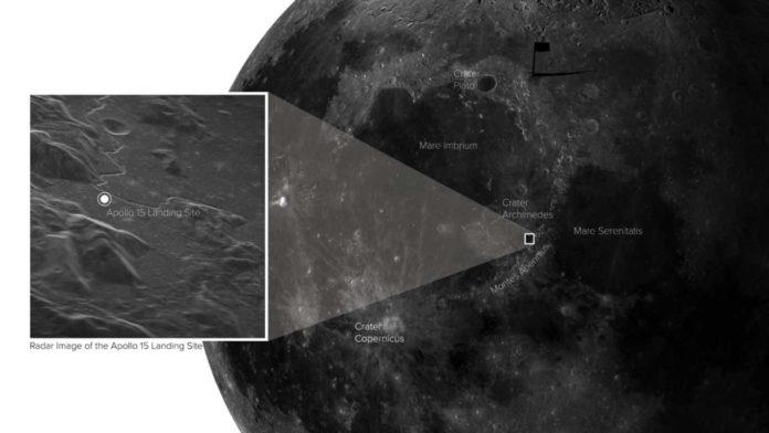 Apollo 15 landing site